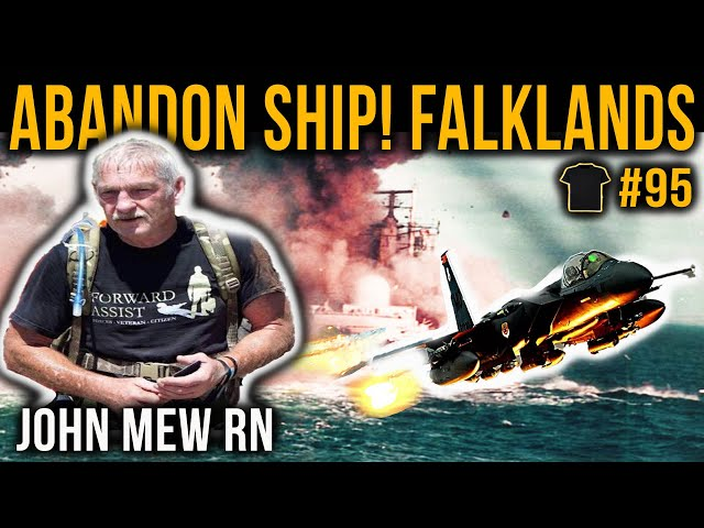 Sunk In The Falklands | John Mew | HMS Coventry | Field Gun Crew | PTSD | Pen Y Fan
