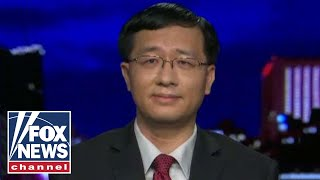 Georgia Gwinnett College assistant professor Fang Zhou speaks out on the backlash against him on 'Tucker Carlson Tonight.'