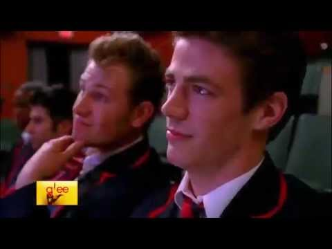 Glee - Black or white (Official video  Full performance) HD