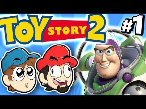 O MELHOR JOGO DE NOSSAS VIDAS! - Toy Story 2 #1