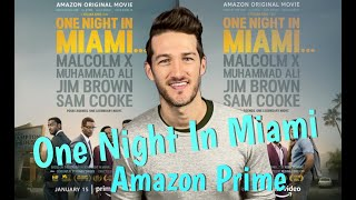 "Regina king directs, ""one night in miami"" based off the play by kemp powers. telling fictional story of four icons; malcolm x, muhammad ali, sam cooke a..."