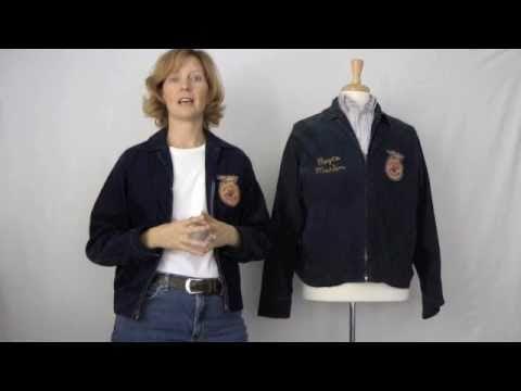 Future Farmers of America Jacket - YouTube - new farmers of america