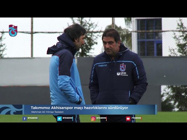 Takımımız Akhisarspor maçı hazırlıklarını sürdürüyor