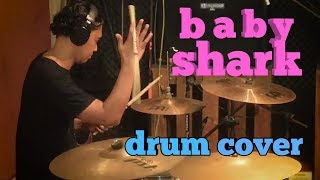 Baby shark drum cover 2017 Video