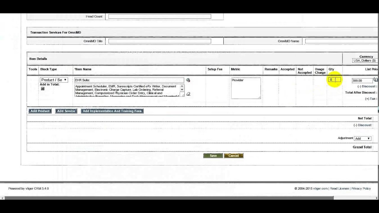 vTiger Healthcare Software | CRM for Healthcare Software