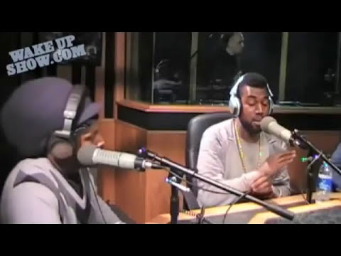 Wake Up Show: Kanye West Full Interview (2009)