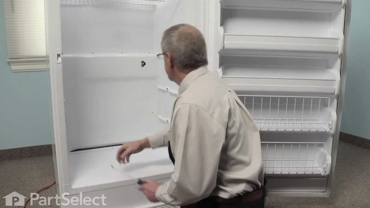 Refrigerator Repair Replacing The Freezer Thermostat