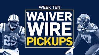 Week 10 Waiver Wire Pickups (Fantasy Football)