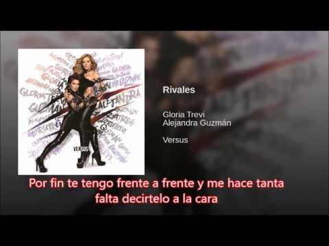 Gloria Trevi y Alejandra Guzman  Rivales letra