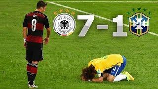 Németország vs Brazilia 7-1 - Összefoglaló (FIFA VB 2014) HD