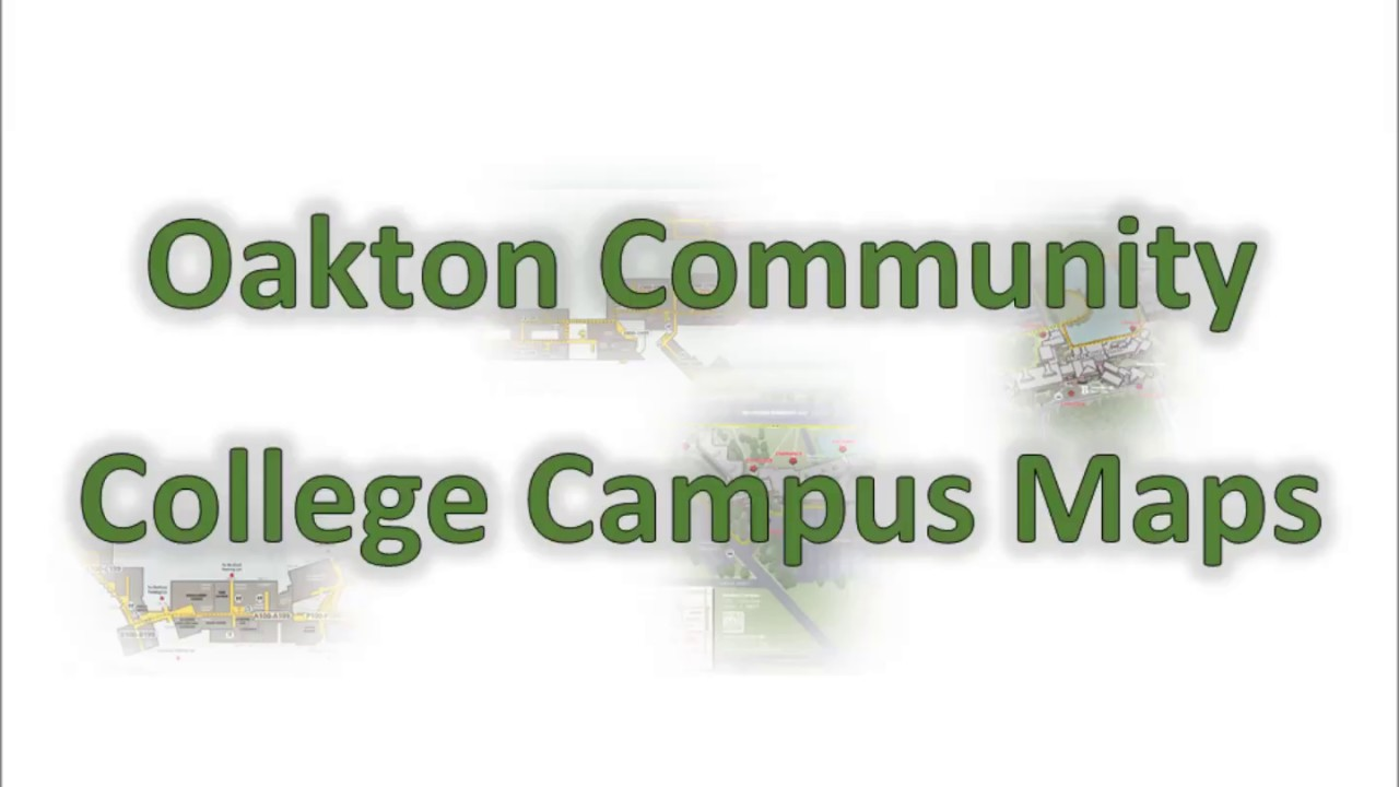 Oakton Community College Campus Maps Youtube