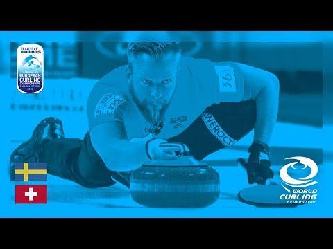 Sweden v Switzerland - Men - Round Robin - Le Gruyère AOP European Curling Championships 2018
