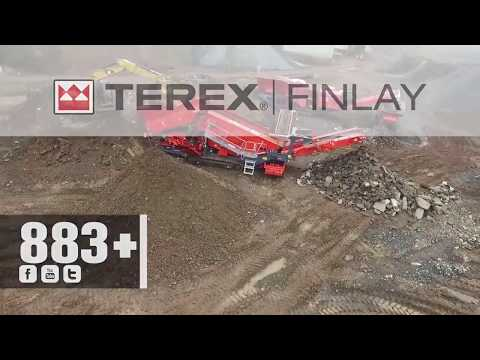 Terex Finlay 883+ Spaleck Heavy Duty Screener | OPS Screening & Crushing