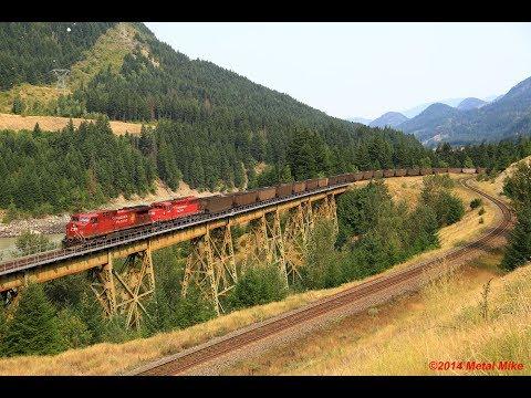 CP CN Boston Bar to Ashcroft 8 22 2014