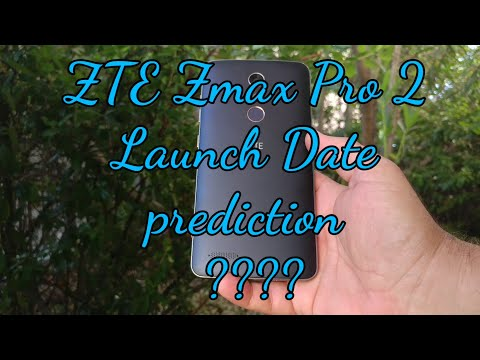 ZTE Zmax Pro 2 Metro PCS Launch prediction
