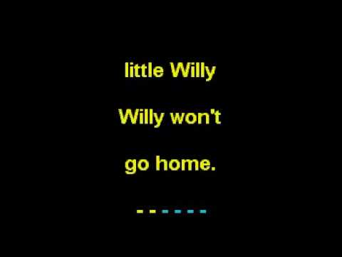 Little Willy in the Style of  The Sweet Karaoke