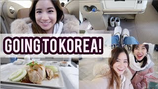 Flying Singapore Airlines Business Class to SEOUL, KOREA