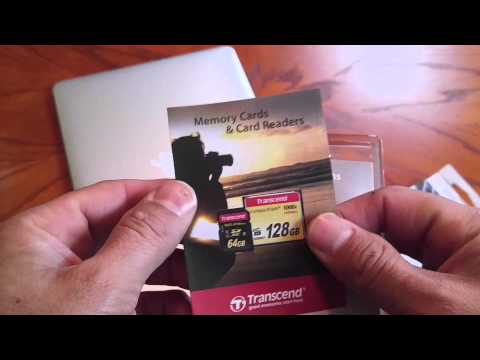 Transcend 128gb memory expansion card for the macbook air $67