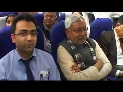 To return to power in Bihar, Nitish Kumar arrives in Delhi