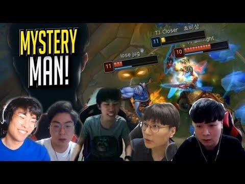 Is T1 Closer Just A Faker Smurf!? - Random Stream Highlights (Translated)