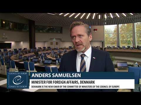 Anders SAMUELSEN - Minister for Foreign Affairs, Denmark