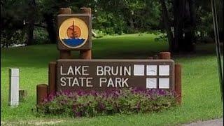 Lake Bruin State Park Walk thru - All 48 Sites
