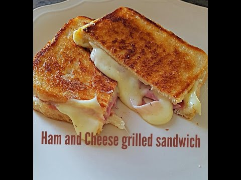 Ultimate Ham And Cheese Grilled Sandwich