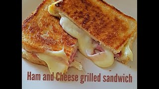 Ultimate ham and cheese grilled sandwich YouTube Videos