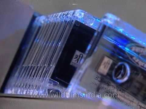 Audio Cassette music tapes being manufactured in India: archival Mp3