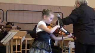 Берио концерт № 7 для скрипки с оркестром