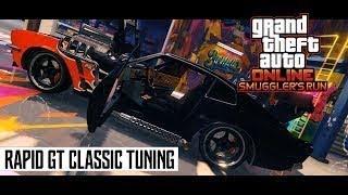 GTA 5|NEW Vehicle, Dewbauchee Rapid GT Classic|Smugglers Run DLC!!