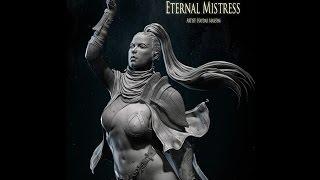 Eternal Misrtess - Zbrush Speed Sculpt