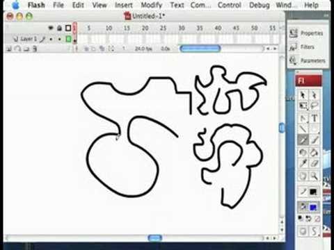 Adobe Flash Tools : Flash Tools: Pencil Tool