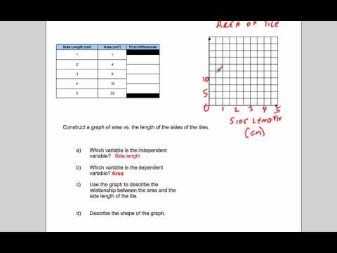 Dependent and Independent Variables Slope Y Intercept and
