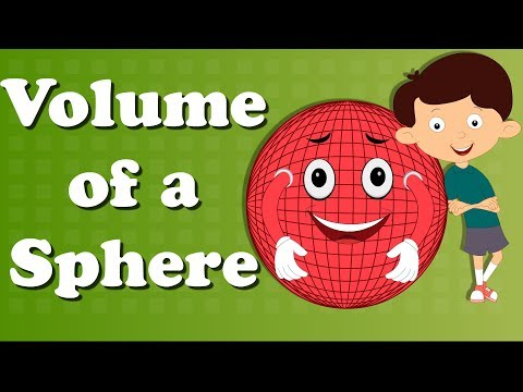 Volume of a Sphere | #aumsum #kids #education #science #learn