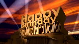 Happy Birthday Diego Arturo Palma Mauricio