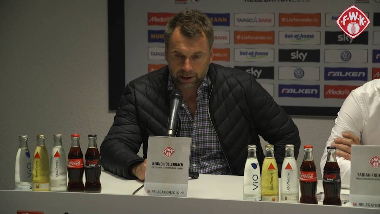 Kickers Würzburg Pressekonferenz