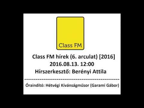 Class FM hírek (2016) 6. arculat mp3 letöltés