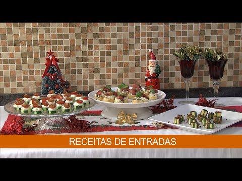 RECEITAS DE ENTRADAS