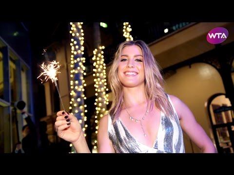 Genie Bouchard Celebrates New Years In Brisbane | Photo Shoot