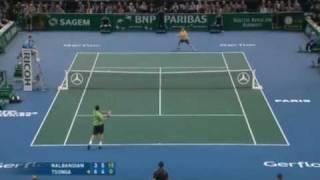 PARIS MASTERS TENNIS FINAL: TSONGA v NALBANDIAN ROUND-UP