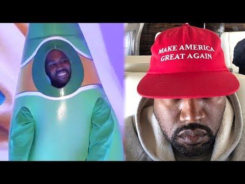 Kanye West SLAMMED for Awkward Performance & Pro-Trump Rant on SNL