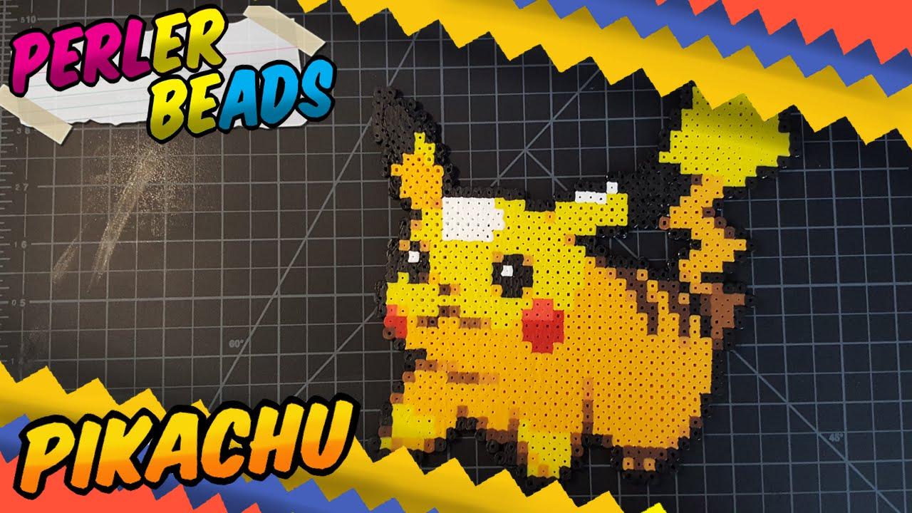 Pokemon Perler Beads ~Pikachu ~