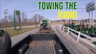 6.0 POWER STROKE HAULING TRACTOR TO DEERE
