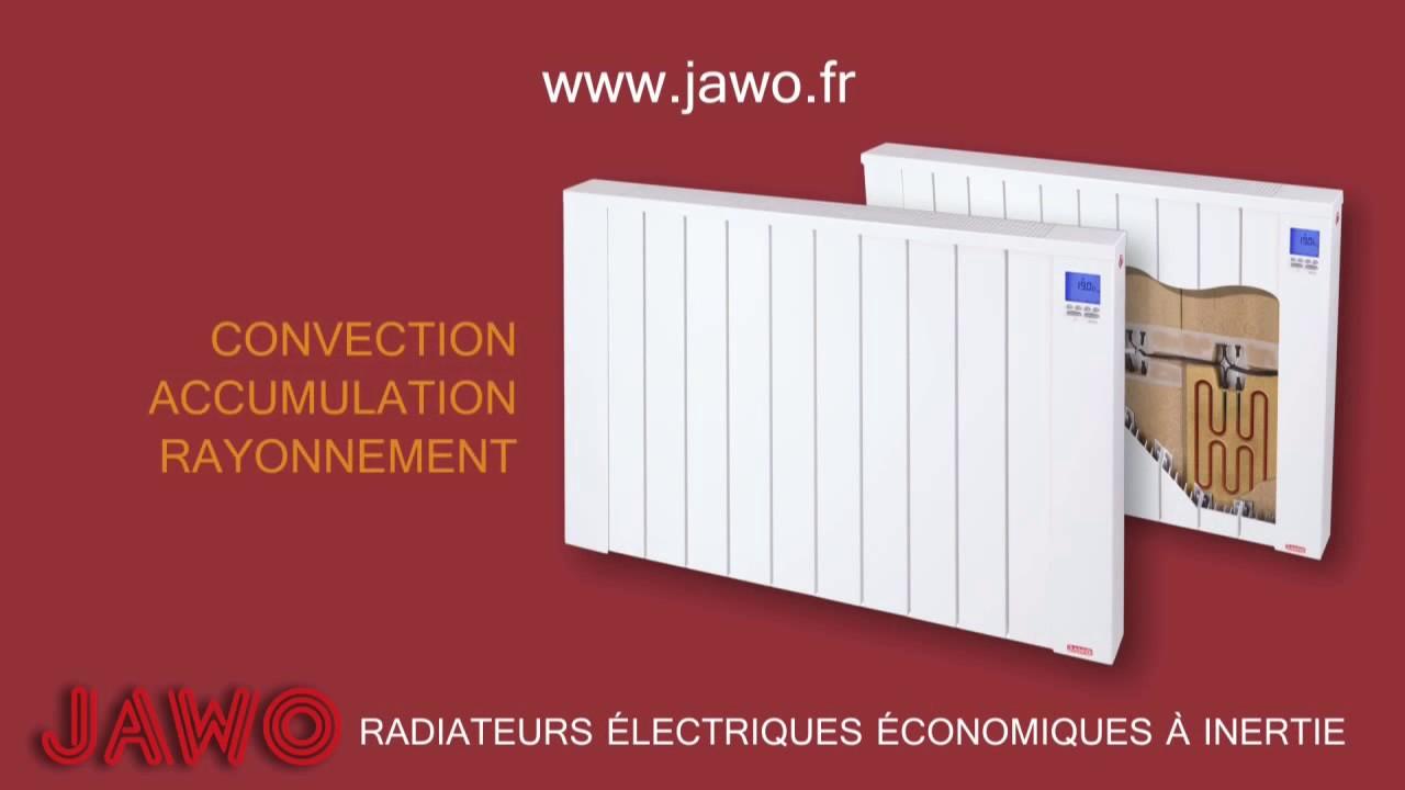 Radiateur Electrique A Inertie Horizontal Jawotherm 2400 W Ref 24b09n Contact Dangel Electro