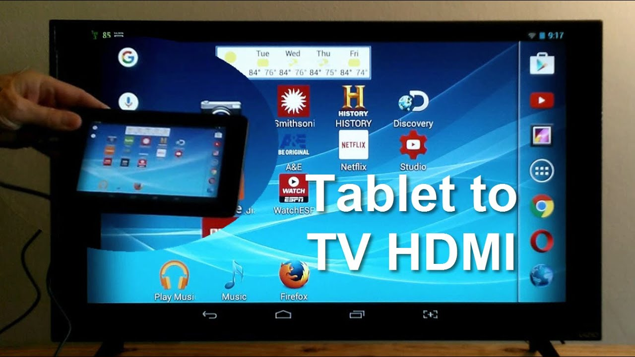 Phone How Can I Connect My Android Phone To My Computer how to connect tablet tv using hdmi easy fun youtube