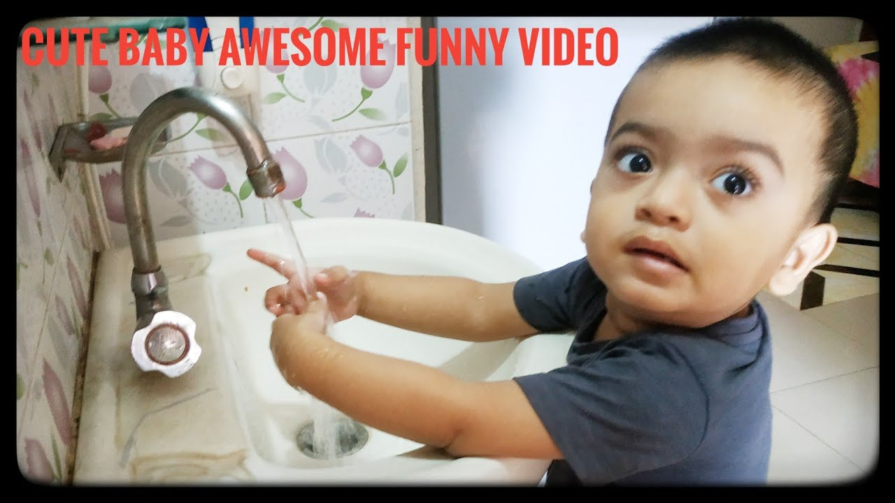 cute baby awesome funny video