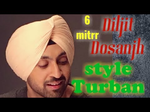 Diljit dosanjh style Turban || full HD || art by simrandeep Singh