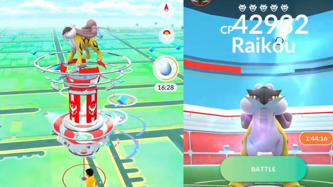 pokemon heartgold how to catch raikou