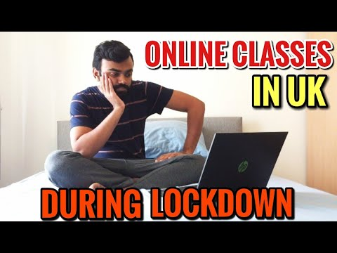 Online classes in UK during Lock down | My life in london